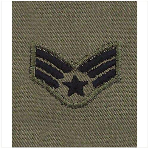 - Vanguard AIR FORCE EMBROIDERED RANK: SENIOR AIRMAN - ABU GORTEX