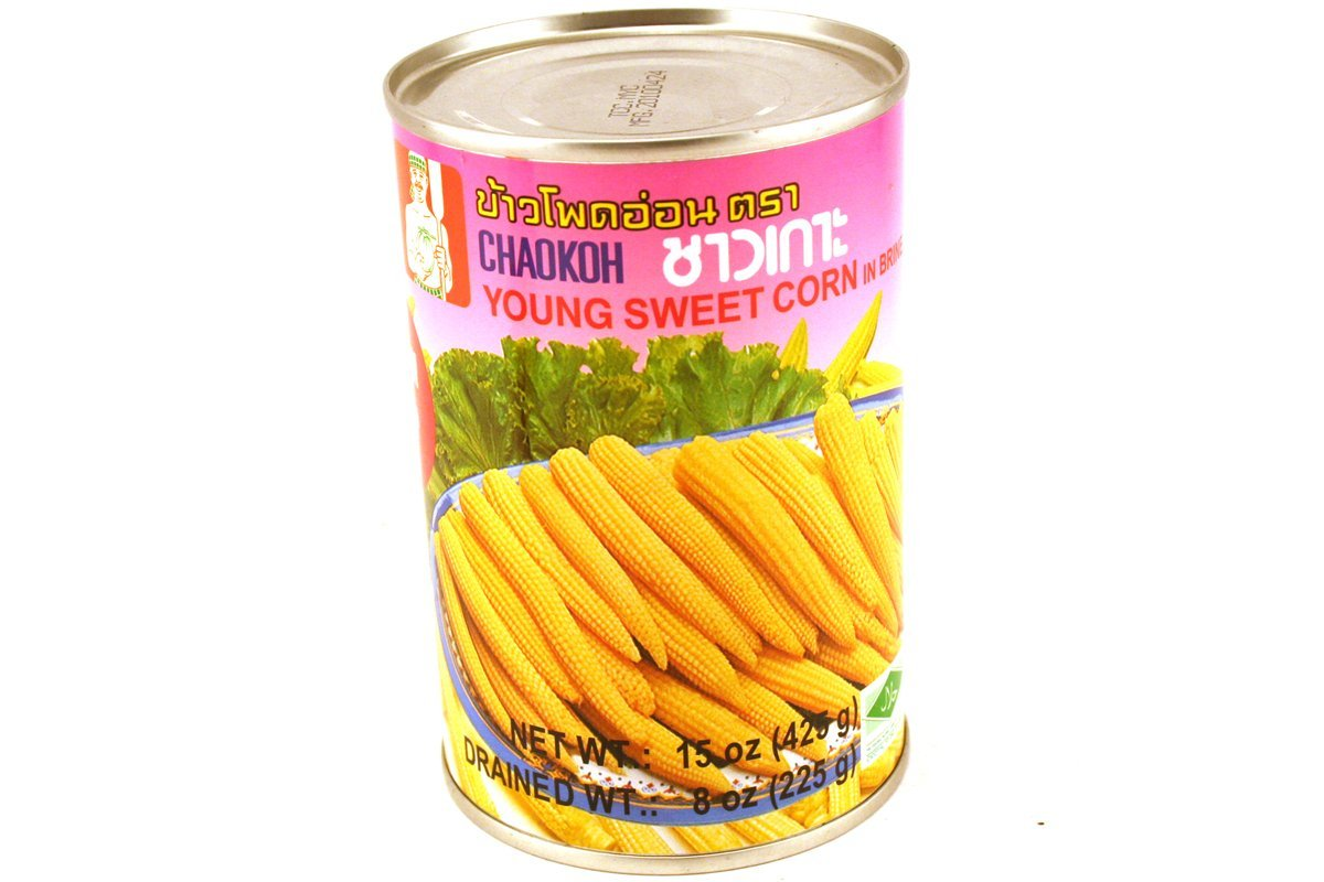 Young Sweet Corn in Brine - 15oz [Pack of 3]