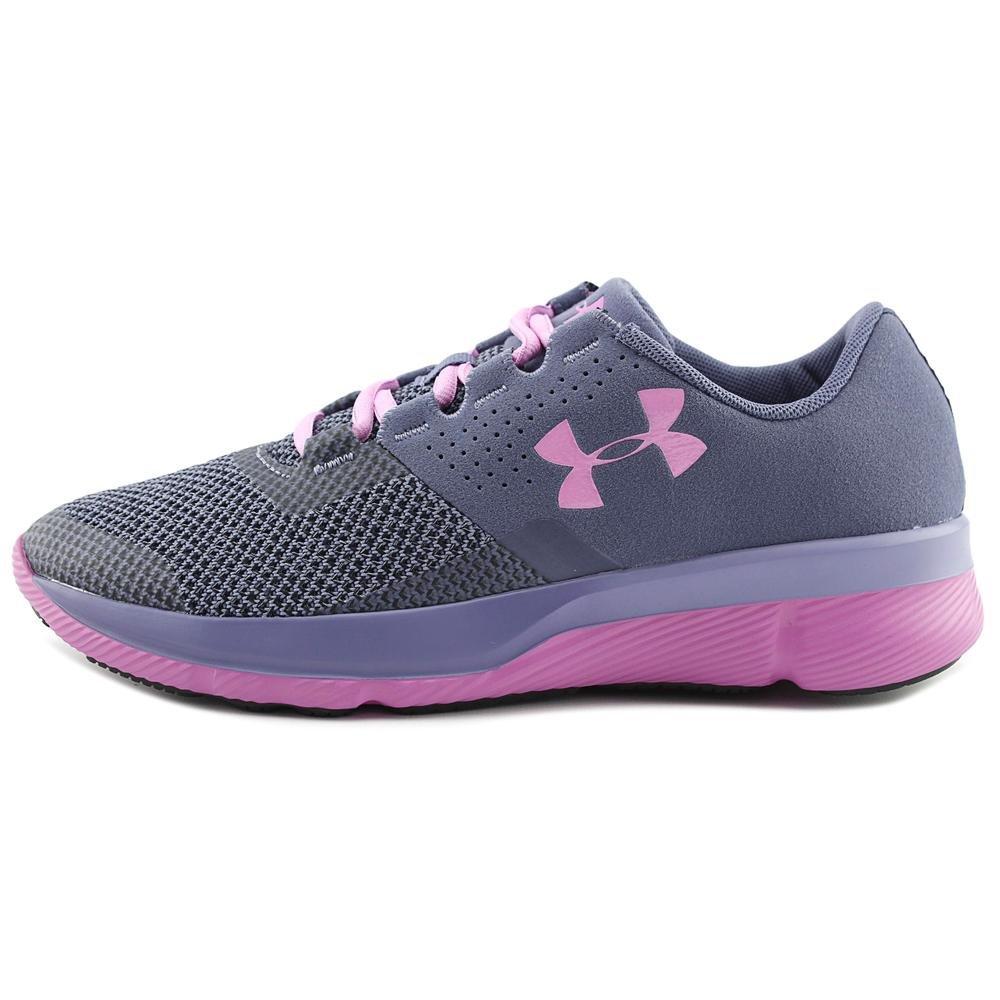 Black pink New in Box Grade School UA Tempo TCK Girls' Running Shoe