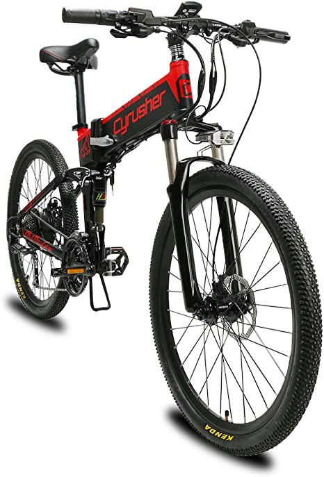 Extrbici Bicicleta eléctrica Plegable montaña Adultos Hombre Mujer ...