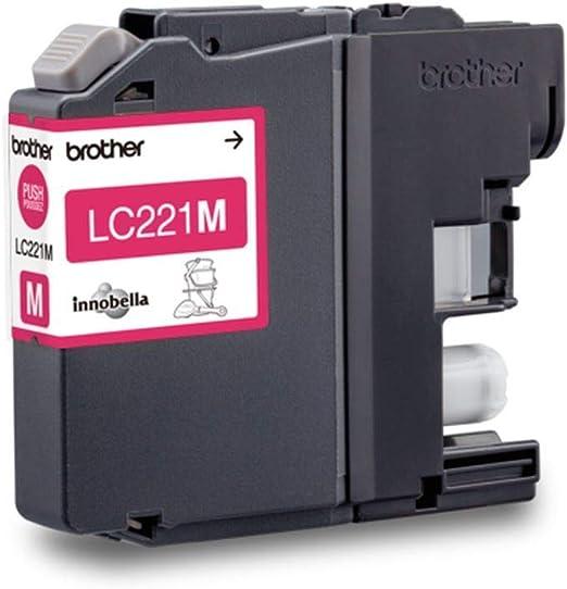 Brother Lc 221m Original Tintenpatrone Magenta Kompatibel Mit Brother Dcp J562dw Mfc J480dw Mfc J680dw Mfc J880dw Bürobedarf Schreibwaren