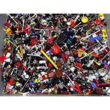 (X20) Lego Minifigure Accessories - Hats, Weapons, Tools, Flippers Etc