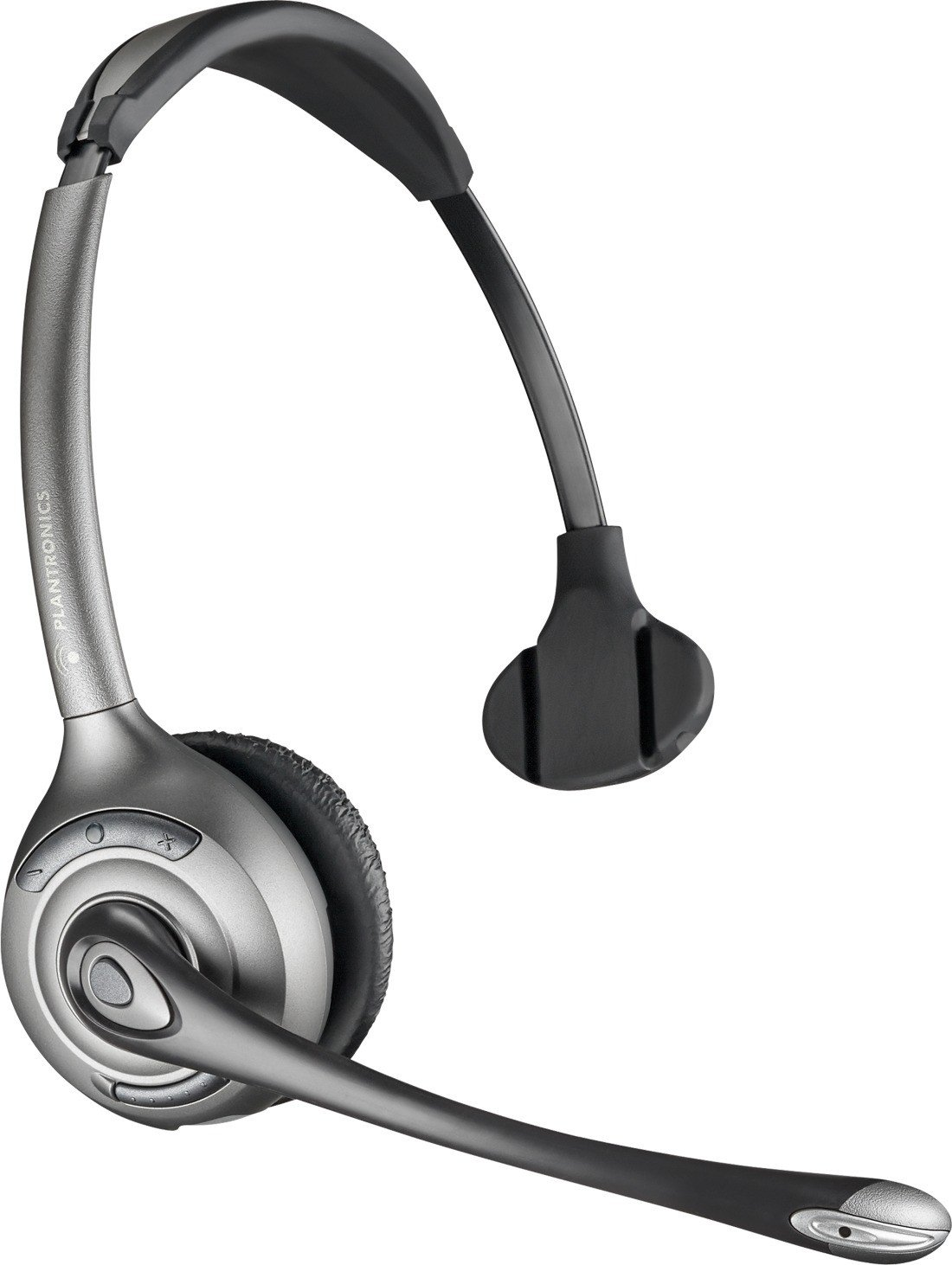 Plantronics CS351n Monaural Wireless Office Headset System for Telephone (Certified Refurbished)