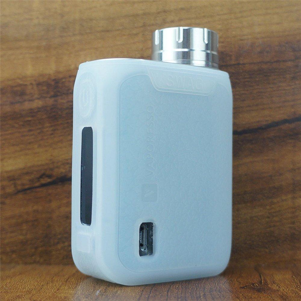 ModShield for VAPORESSO Swag 80W TC Silicone Case ByJojo Cover Shield Wrap Skin Sleeve (Blue/Black) ModShield ByJojo