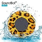 Soundbot SB510 Mini 3.0 HD Water Proof Wireless Bluetooth Speaker - Leopard Pattern