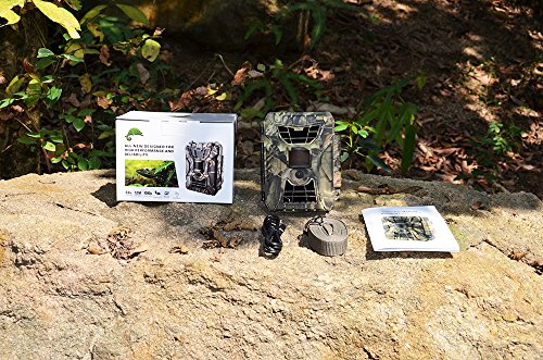 HKCYSEA New 12MP WildlifeTrail Game & Hunting Camera,Infrared Night Vision Batteries Power 15Meters Animal Trap Fast Trigger Speed for Wildlife Observation and Security by HKCYSEA (Image #4)