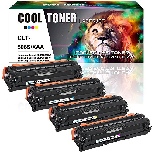 Nice Cool Toner 4 PK Black Cyan Yellow Magenta Compatible Toner Cartridge Replacement For Samsung CLT-K506L CLT-C506L CLT-Y506L CLT-M506L For Samsung CLP-680ND CLX-6260FR CLX-6260FD CLX-6260ND CLX-6260FW for cheap