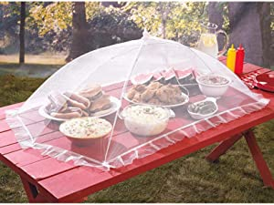 Giant Collapsible Food Cover Tent for Outdoor Parties and Catering