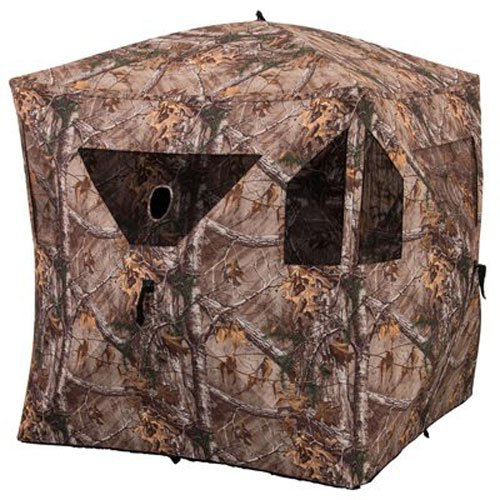 Ameristep Brickhouse Ground Blind   59' x 59' x 67'-In