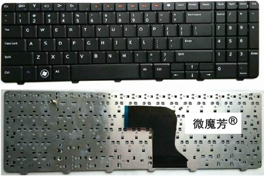 YUANFAN Replace US Laptop Keyboard for DELL N5010 15R N5010D M5010 M501R for Inspiron 15(INS15VD-1318 1308) 1316 Ins15RD