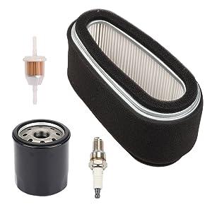 Butom 11013-2141 Air Filter Tune Up Kit for Kawasaki FC400V FC401V FC420V 14HP 4-Cycle Engine