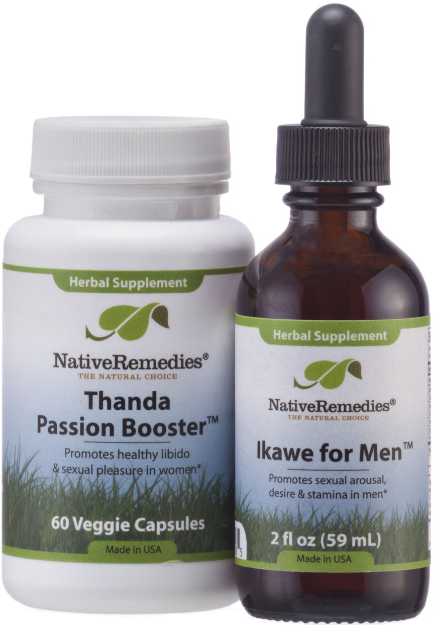 359849 Native Remedies® His & Hers Passion ComboPack