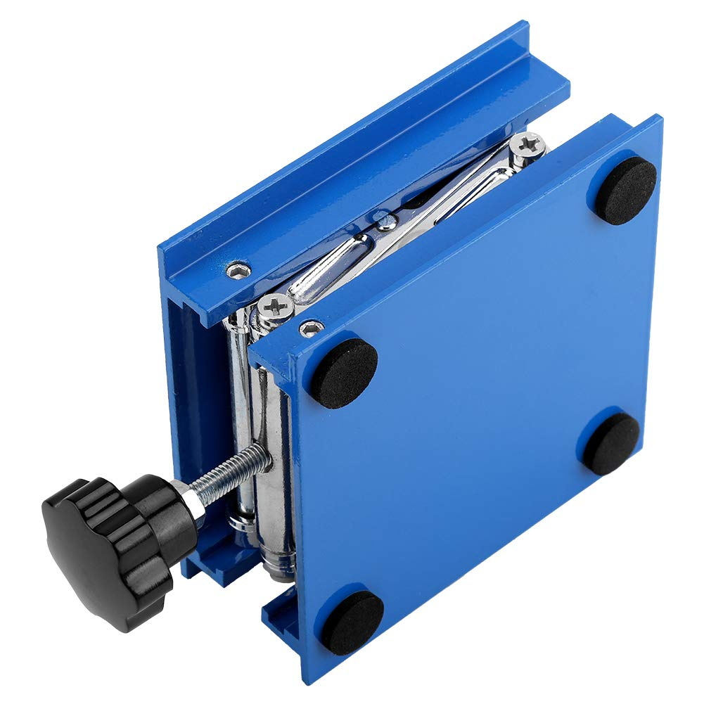 Blue Lab Lift Stand 100 x 100mm Platform Lift for Chemistry Experiments for Physicists Rack Scissor Stand