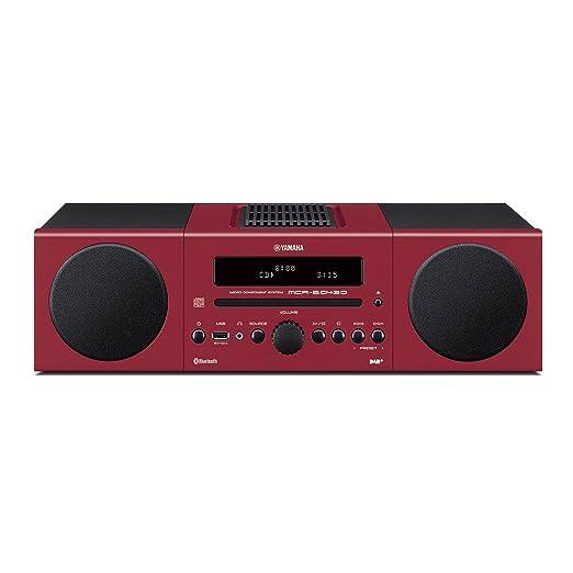 65 opinioni per Yamaha Micro B043 DAB Sistema Micro Hi-Fi, Rosso