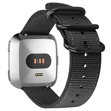 FINTIE Bracelet pour Fitbit Versa/Fitbit Versa Lite Edition Montre connectée: Amazon.fr: High-tech