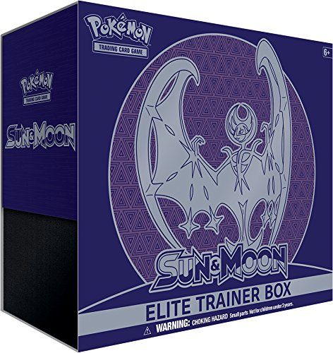 (Pokemon Sun and Moon Elite Trainer Box Lunala)