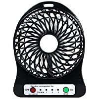 DFS Portable Mini USB 3 SPEED FAN with Torch(Free Gift worth 49/- - Pocket Card Mobile Holder)(Colors May Vary)