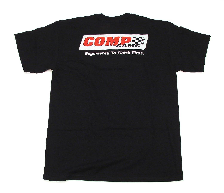 COMP Cams C1020-XXXL XXX-Large Black Racing T-Shirt