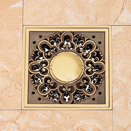 YLHM Floor drain/full copper deodorizing floor drain washing machine three pass drain sewer,Bronze T type