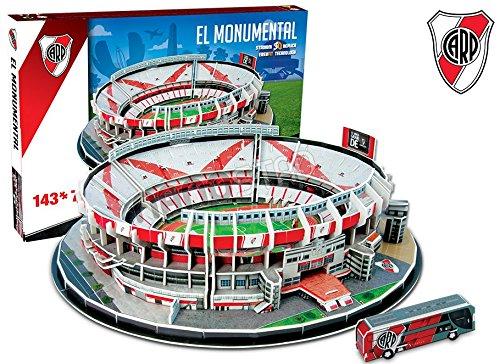 River Plate El Monumental 3D puzzle (kog) IDEAS PARA EDUCAR S.A DE C.V.