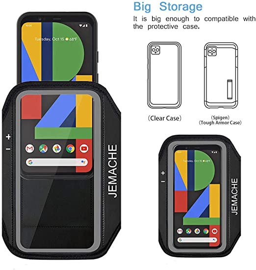Gym Course Sports Gym Brassard Téléphone Étui Housse Pour Google Pixel 3 A
