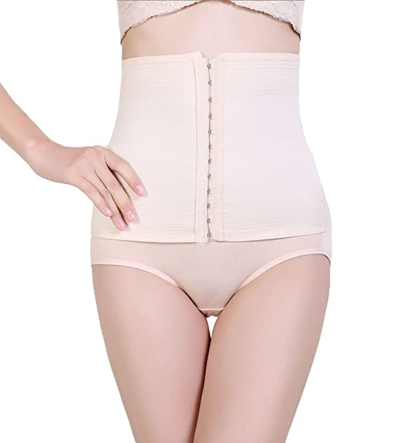 f49844125f0 Image Unavailable. Image not available for. Color  ValentinA Waist Nipper  Cincher Girdle Corset Trimmer Trainer Shapewear for Women