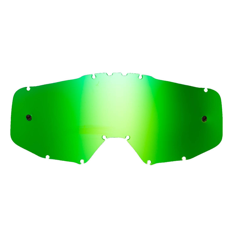 SeeCle 418103 lentilles de rechange pour masques jaune compatible avec masque Just1 Iris