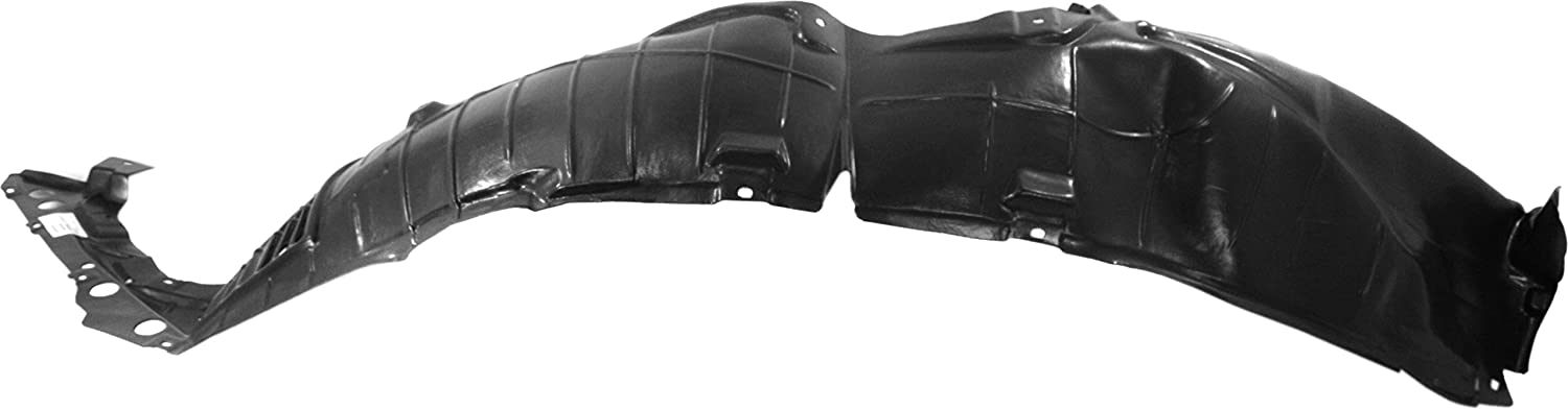 Fender Liner Compatible with 2016-2018 Nissan Maxima Plastic Front Driver Side