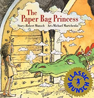 The Paper Bag Princess (Turtleback School & Library Binding Edition) (Munsch for Kids) (083357910X) | Amazon Products