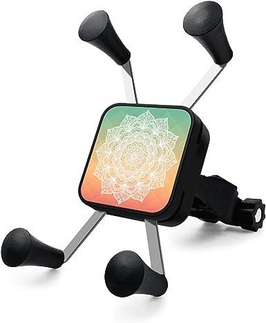 Soporte para teléfono móvil Rain YuNuo con diseño de elefante azteca, duradero, universal, rotación de 360 grados, soporte para teléfono celular y manillar de bicicleta de montaña para cualquier smartphone GPS: Amazon.es:
