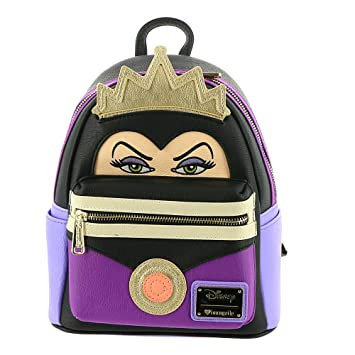 Amazon.com   Loungefly Snow White Evil Queen Faux Leather Mini Backpack  Standard   Casual Daypacks a71e13fe102