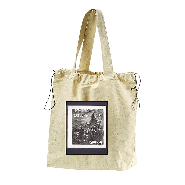National Day (Vintage) Canvas Drawstring Beach Tote Bag