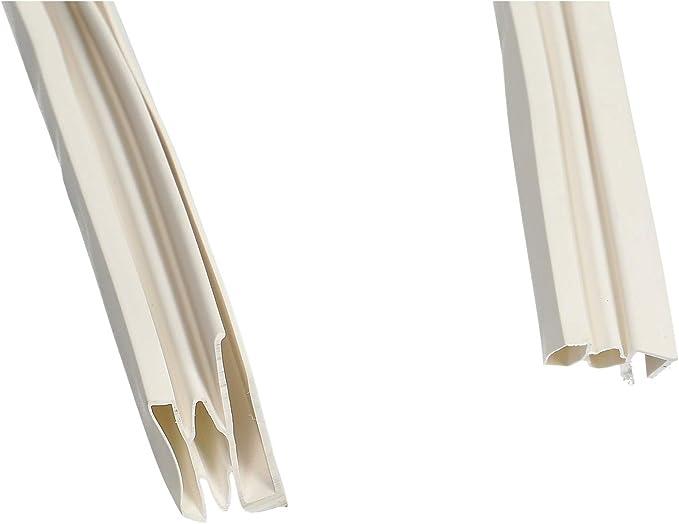 Junta de estanqueidad universal de PVC blanco de 2 m para ...