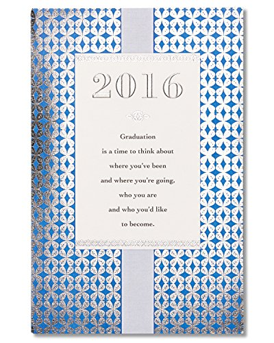 American Greetings 2016 Graduation Card with Foil
