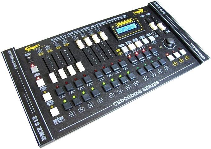 Cablematic – Controlador DMX 512 de 8 Faders Crocodile 2024 ...