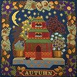 Autumn Sampler Needlepoint Kit by Elizabeth Bradley