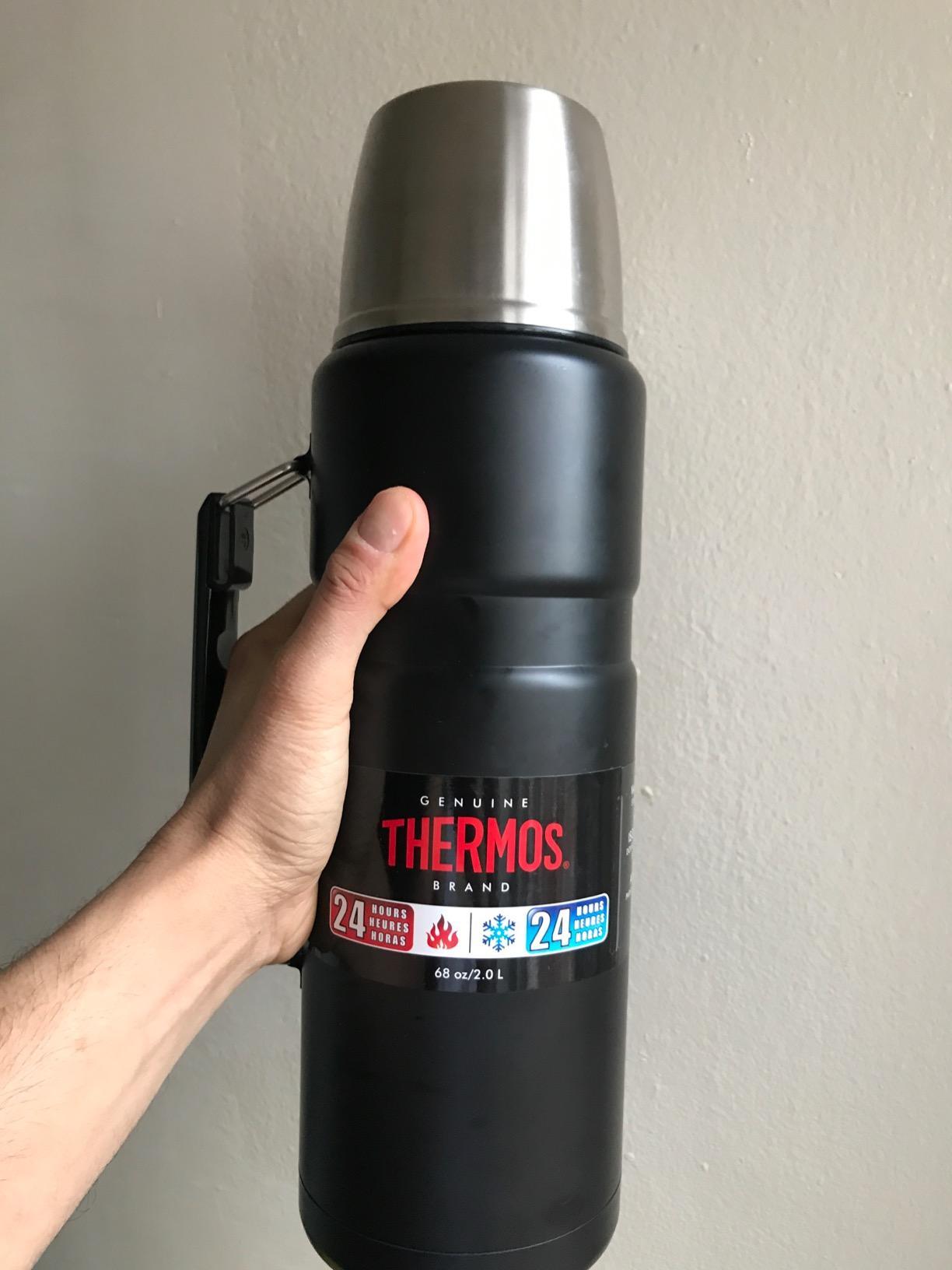 Thermos 膳魔师 King 帝王系列 2升 不锈钢保温瓶 5.6折$25.02 海淘转运到手约¥241