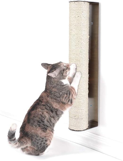 Poste rascador para gatos Pedy, poste de sisal para montar en la pared (rayador): Amazon.es: Productos para mascotas