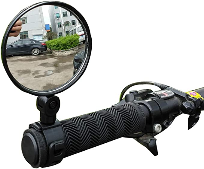 Bicycle Mirror Universal Safe 360 Degree Rotate Handlebar Rearview Mirror New