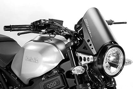 XSR900 2015/20 - Kit Carenabris RunBack (R-0775B) - Parabrisas Lunas Cúpula de Aluminio - Tornillería Incluido - Accesorios De Pretto Moto (DPM Race) - 100% Made in Italy: Amazon.es: Coche y moto