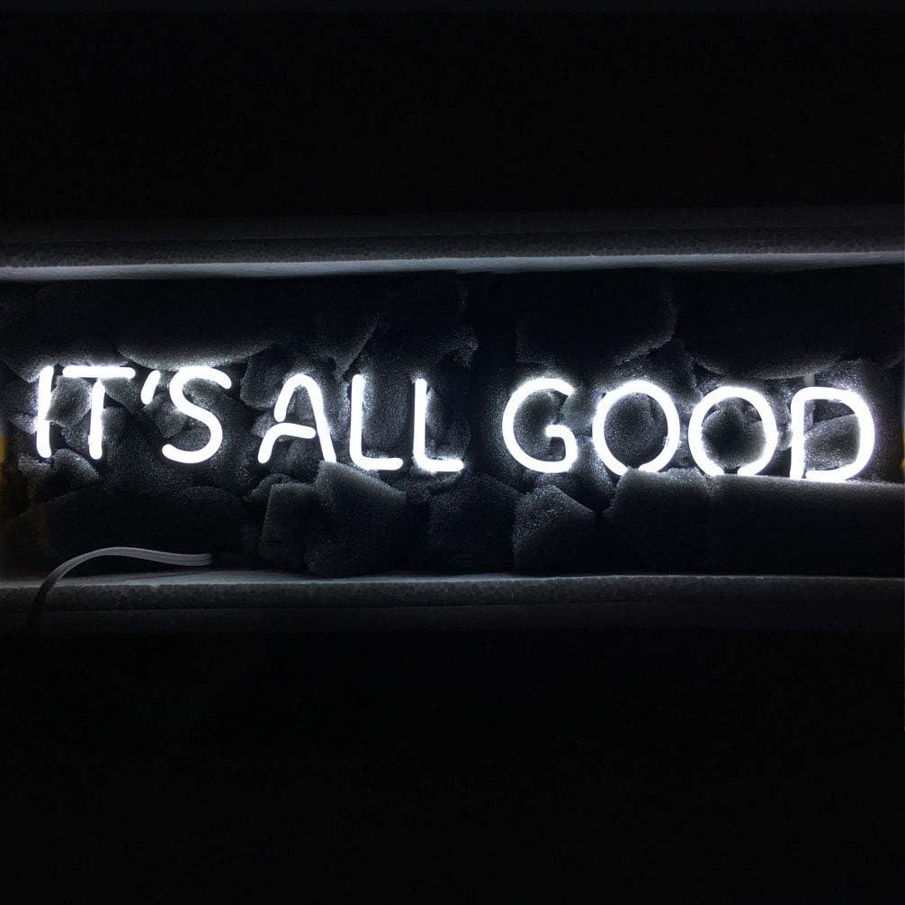 LiQi ITS All Good Neon Sign (18.5