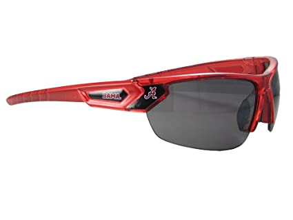 4db3bf7724b Amazon.com   Alabama Crimson Tide UA Red Transparent Mens Sunglasses ...