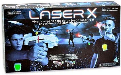 Laser X- Pistola Doble, Color Blanco/Gris (Cife Spain 98139 ...