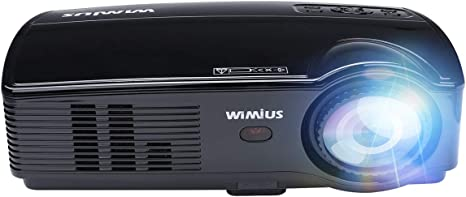 Proyector WiMiUS T7 3600 Lumens Mini Proyector LED Portátil ...