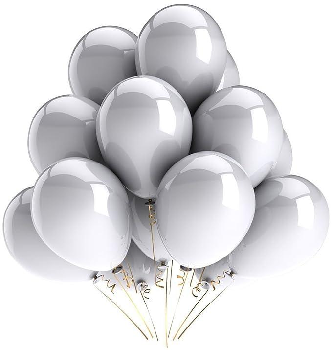 10 opinioni per Vercrown 100 Pz Palloncini Argento per Party, Compleanni, Matrimoni,