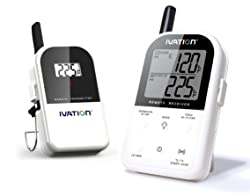 Ivation Long Range Wireless Digital Thermometer Set