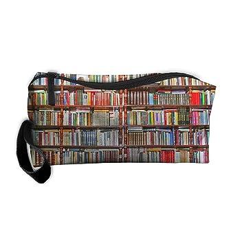 Awesome Neat Bookshelf Portable Travel Home Lingerie Bra Cosmetic Make Up Storage Bag Handbag