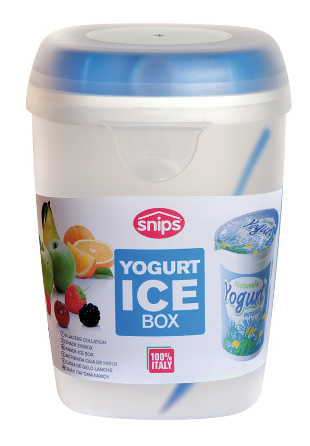 Contenitore refrigerato con cucchiaino da 0,5 lt Snips PORTA YOGURT