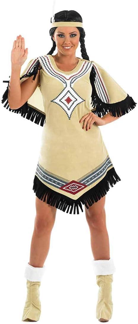 Fun Shack 0 Nativo Americano Disfraz para Mujeres - XXL: Amazon.es ...