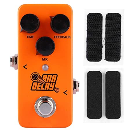 Fafeims Pedal de Efecto Pedales de Guitarra Mini Digital Delay ...